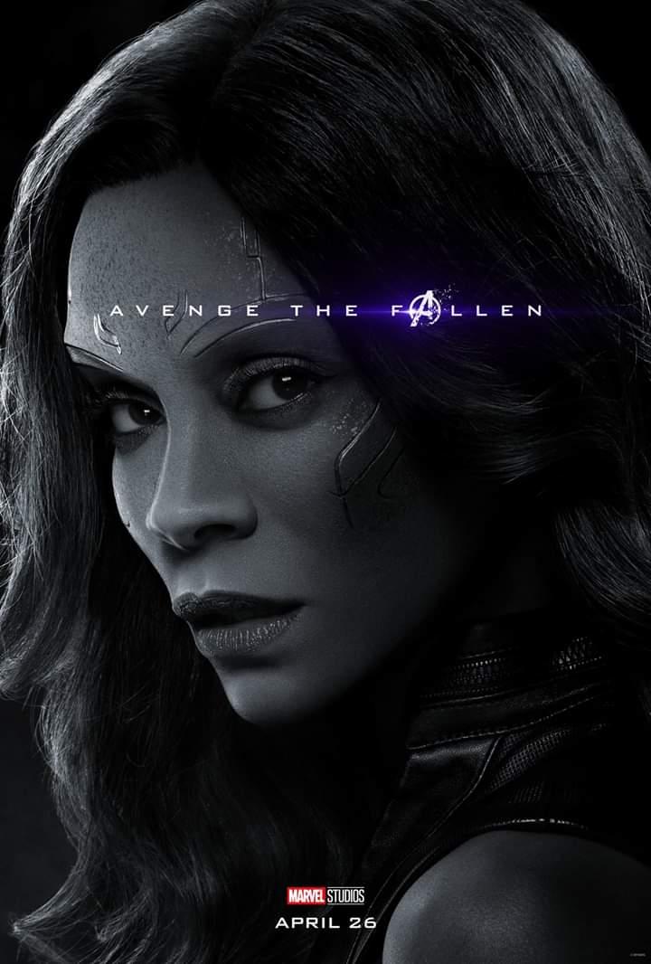 18 Days for @Avengers #EndGame @MarvelStudios @zoesaldana #WhateverItTakes https://t.co/wpyD63lCSN