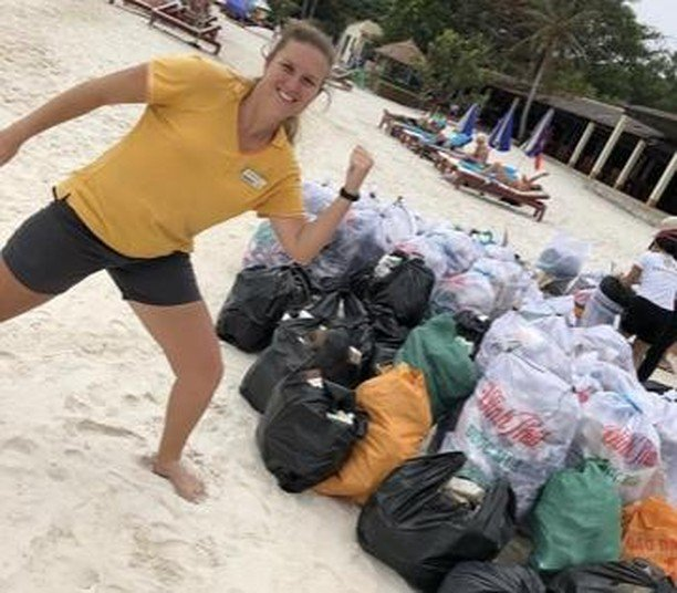 Så er der igen rent og pænt på stranden på Phu Quoc i Vietnam, takket være vores dejlige entusiastiske personale 💪 https://t.co/PPHSa65Ivq