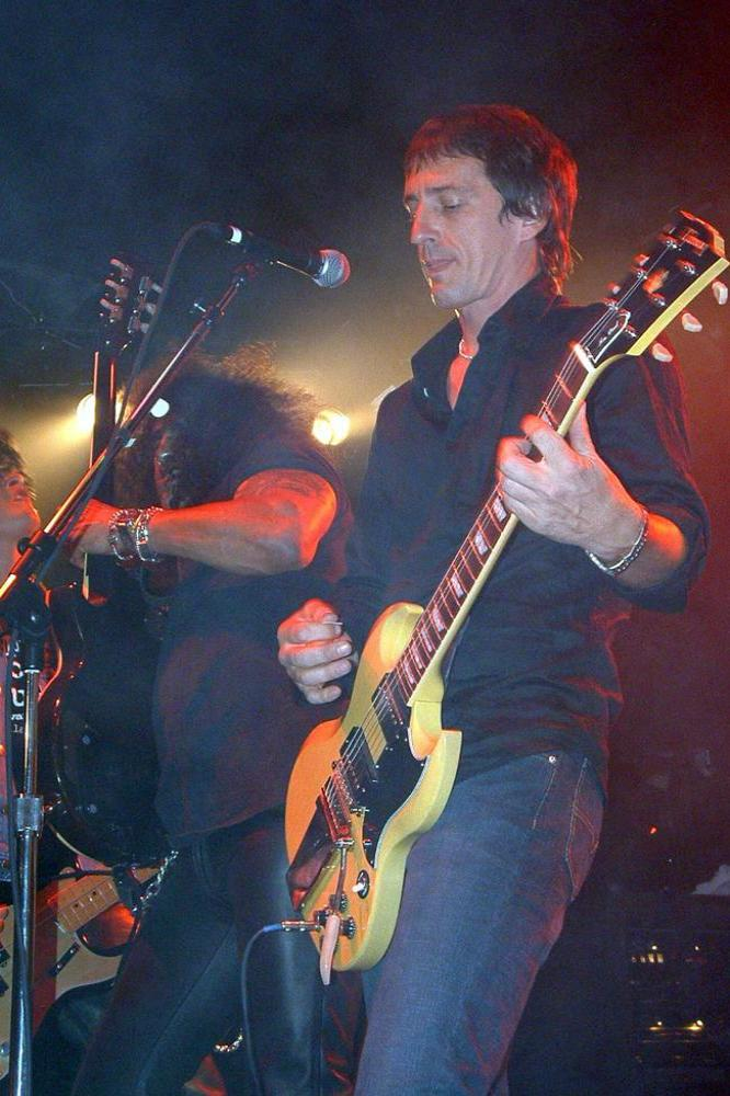Happy Birthday to Izzy Stradlin, best known for his time in