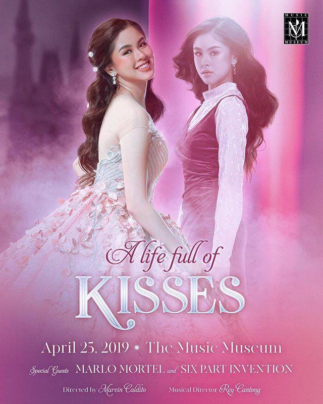 A Life Full of Kisses this April 25 at the Music Museum with special guest Marlo Mortel and Six Part Invention. Ticket out soon! http://bit.ly/2uSKpbB