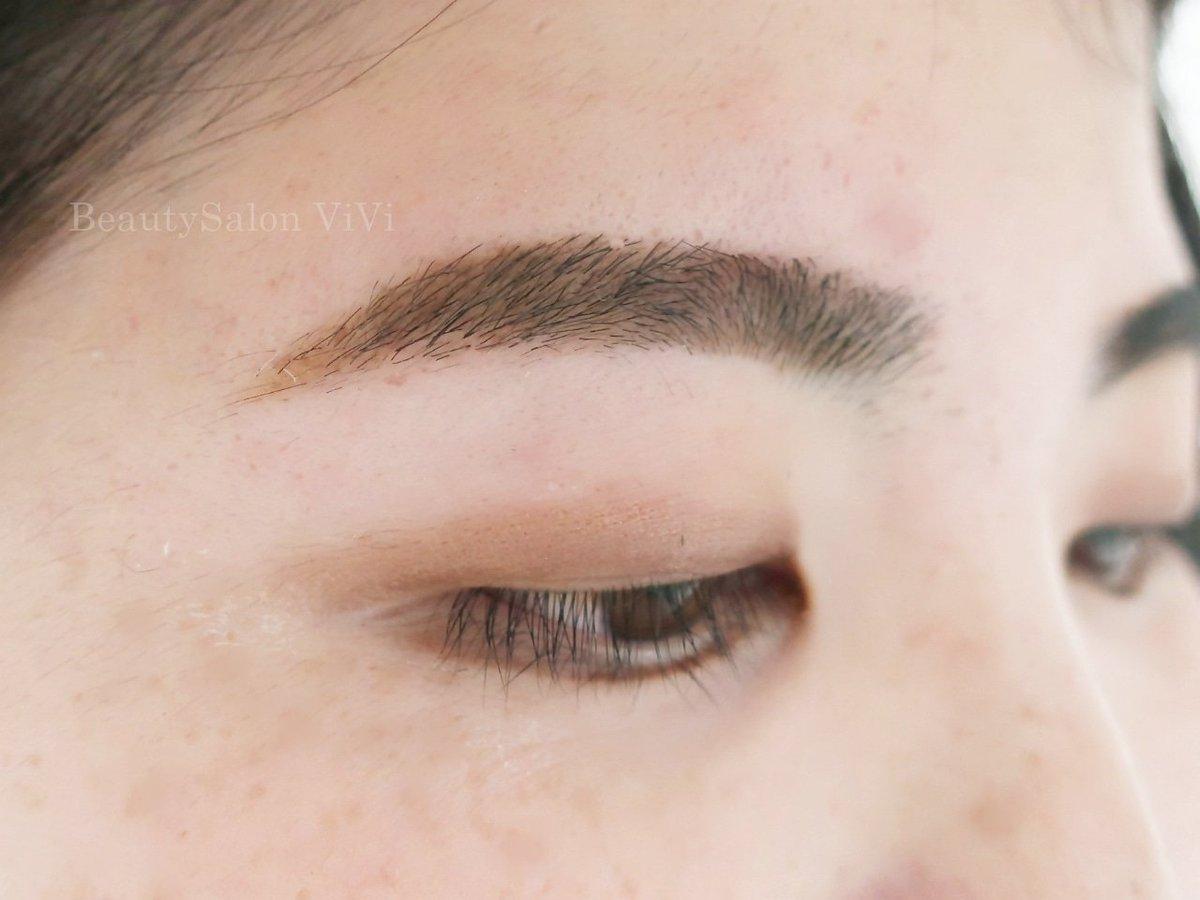眉をどう整えたら良いのかわからない…とお悩みのお客様に多くご来店いただいております。サロンで月1回お手入れでOK?というのは楽だと好評です?お写真は先日のご新規様♪メニューは眉デザイン+ワックス脱毛?眉スタイリング詳細#眉毛サロン千葉#眉メイク
