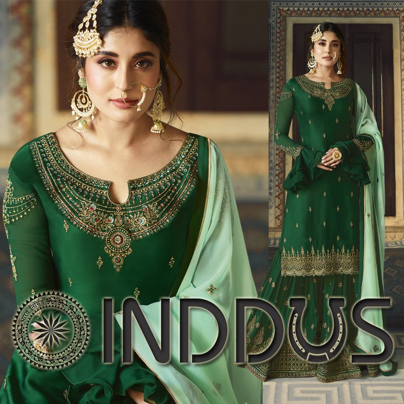 Add richer looks to the persona wearing this bollywood diva @kritika_kamra style sharara suit. https://www.inddus.com/bollywood-salwar-suits…  #Inddus #Bollywoodfashion #BollywoodSuit #bollywoodfashion #bollywooddress #bollywoodactresses #bollywoodoutfits #bollywoodpartyoutfitpic.twitter.com/y12dRjDWBA