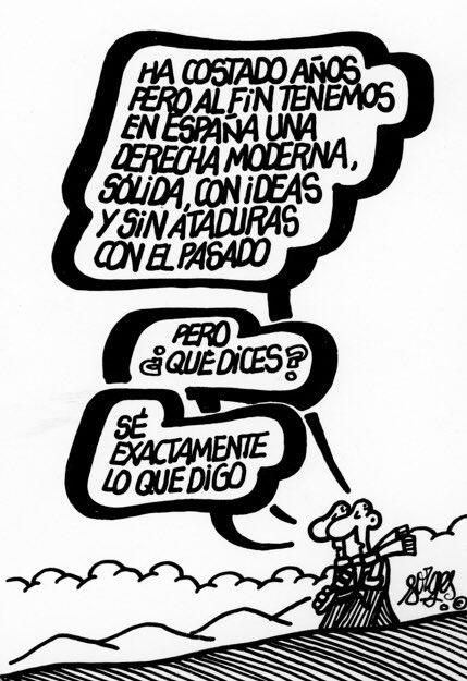 Viñeta publicada en octubre de 1989, en El Mundo