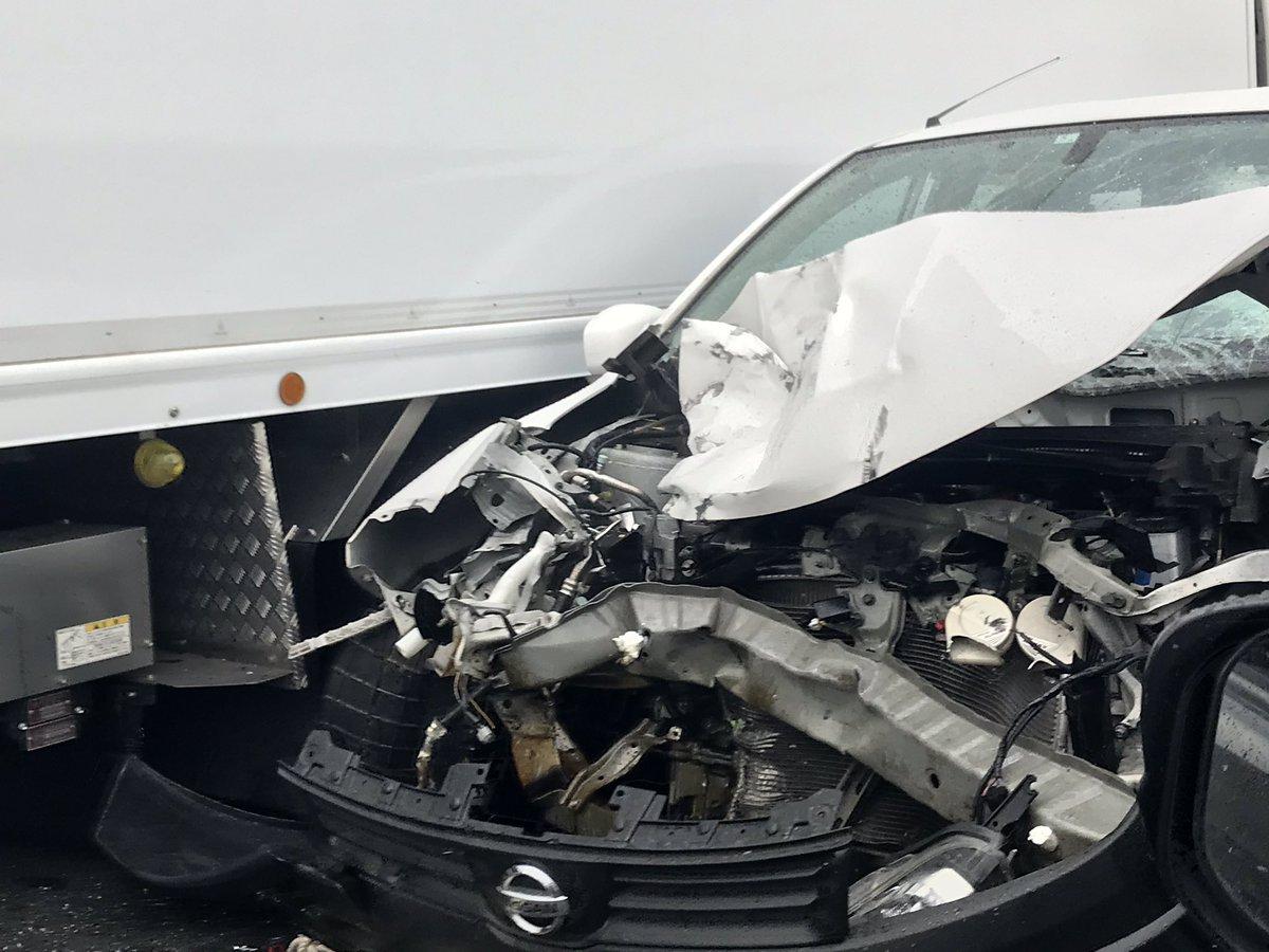 圏央道の内回り線の幸手IC~久喜白岡JCT間で交通事故の画像