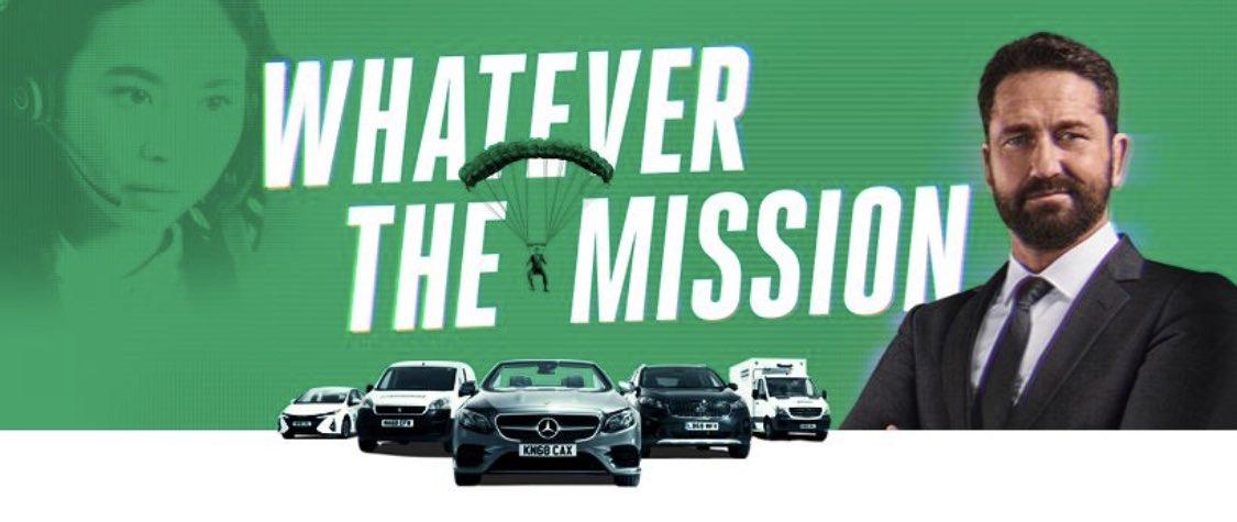 So long Brad & Dave. Hello Gerard Butler! Our new ad campaign has begun! #SU4 #SU4PROUD