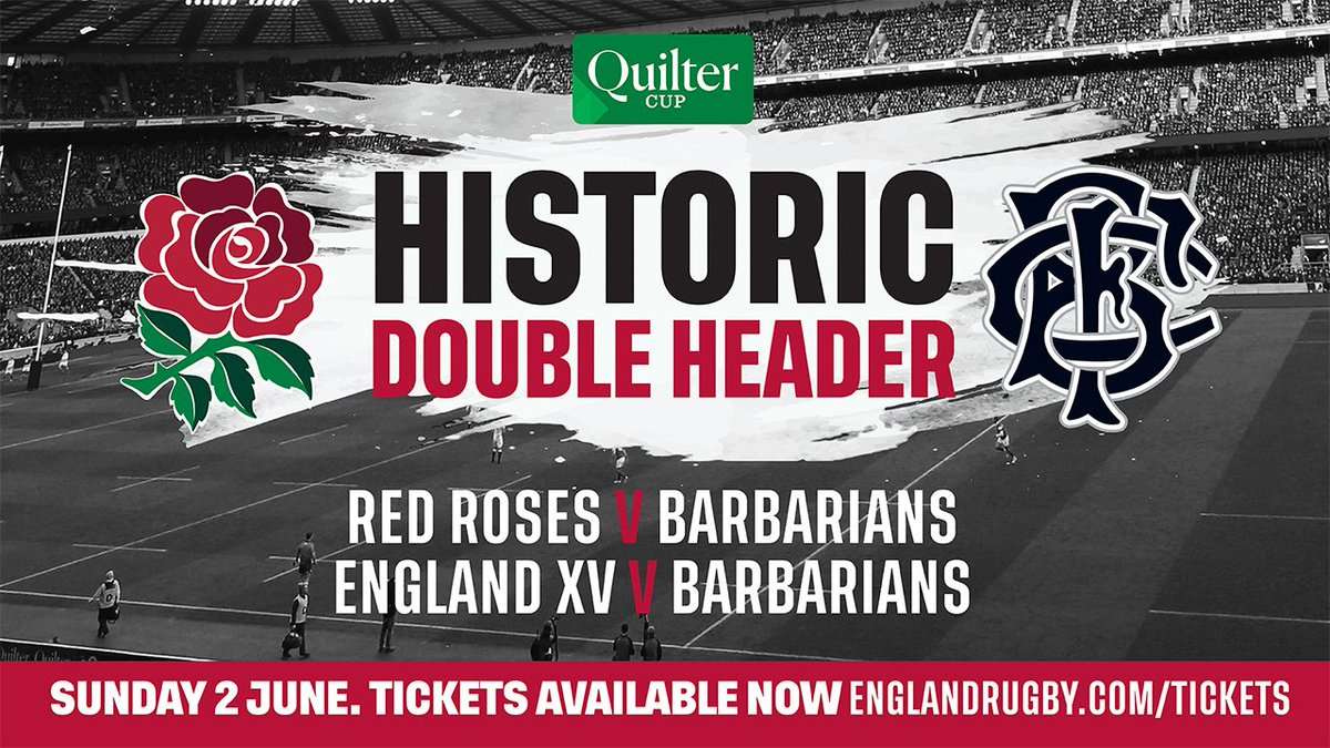 🎫 Grab your tickets for the historic double header against @Barbarian_FC in the Quilter Cup here: https://bit.ly/2UntlJO