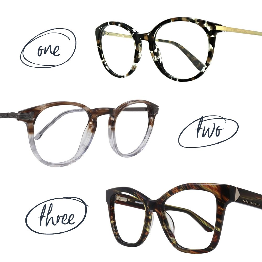 39478f16bc15 From mottled frames to modern stripes and two-toned beauties