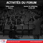 Au programme du #ForumAsean2019 : une alternance entre sessions de #networking, ateliers menés par des intervenants de haut niveau, ainsi que divers témoignages d'#entrepreneurs. Découvrez le programme officiel ici : https://t.co/b5nHjRZr8O