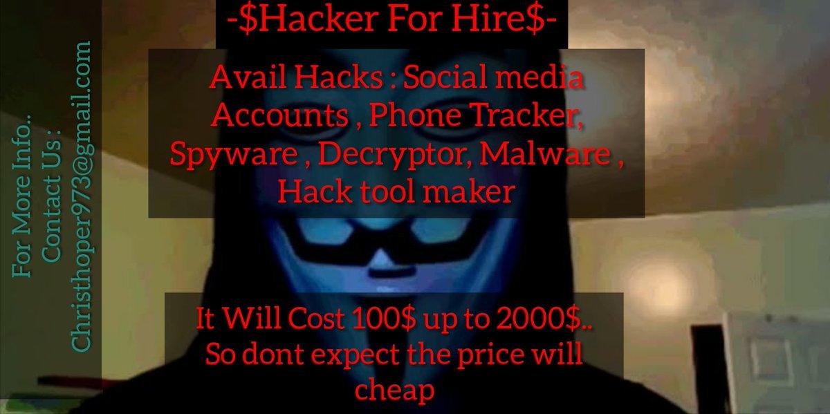 hackerforhire hashtag on Twitter