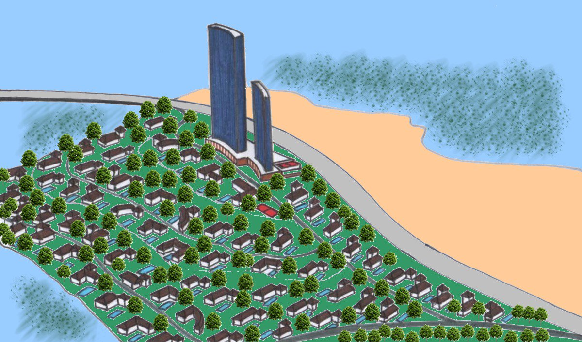 Abu Dhabi plans new Dh5 billion megaproject on undeveloped Jubail Island  #AbuDhabi #DNG #Dubai #Dubainewsgate #JIIC #JubailIsland #SaadiyatIsland #Skyscrapers #YasIsland