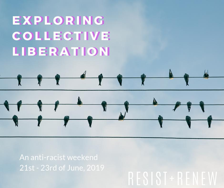 Were excited to announce that were running our second Exploring Collective Liberation course on the 21st to 23rd of June! FB event: facebook.com/events/4103940… Info on website: resist-renew.com/exploring-coll… Please share!
