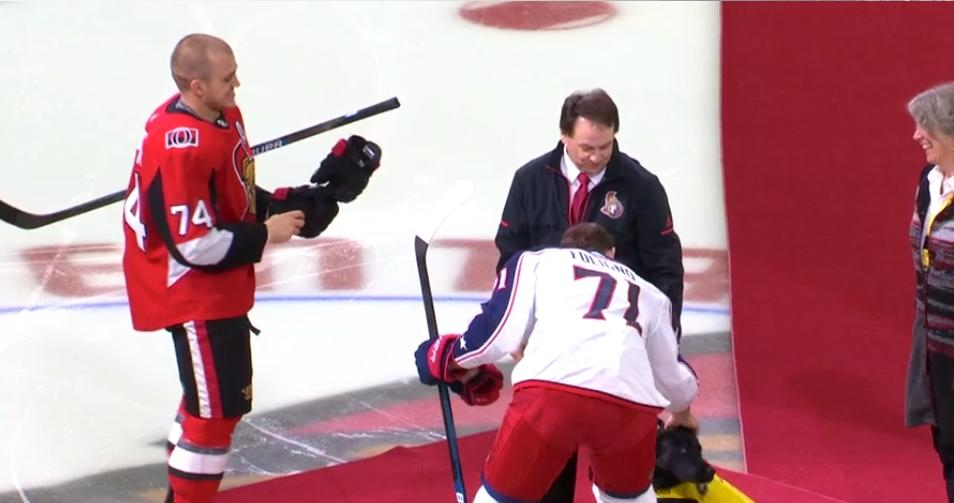 Cbc Ottawa On Twitter One Bright Spot The Sens Guide Dog In