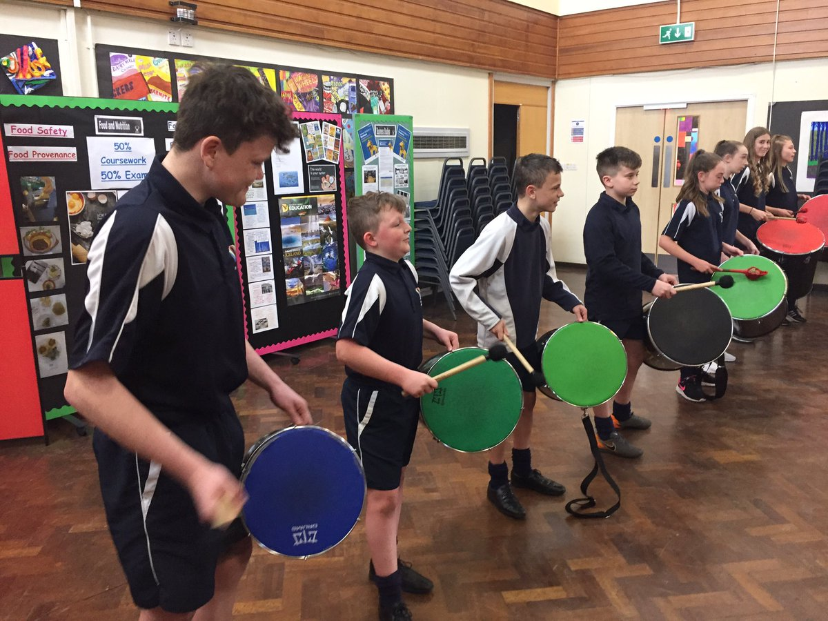 Great samba workshops in preparation for the #RodillianArtsFestival