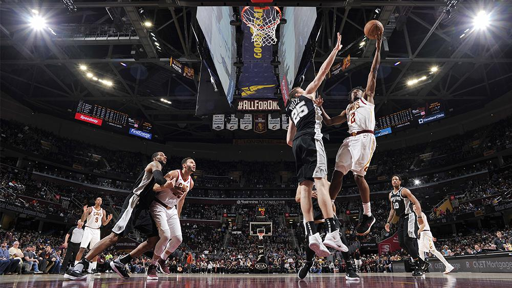 But An Energized San Antonio Squad Couldnt Be Stopped From Early In The CavsSpurs Matchup RECAP Onnba 2I5k4zG PHOTOS