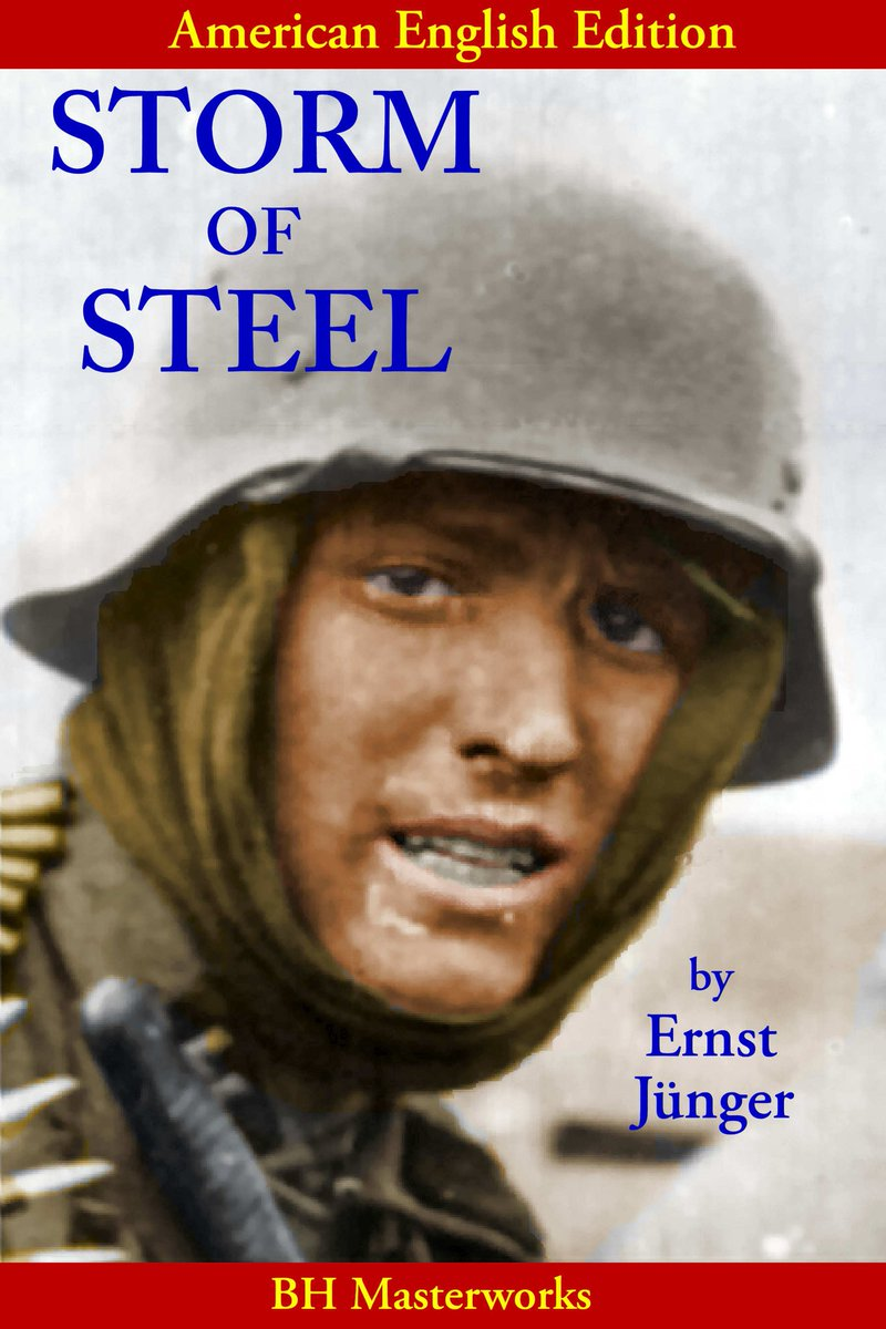 STORM OF STEEL: Powerful combat memoir.  Click link:  https://www.amazon.com/Storm-Steel-Translation-American-English/dp/1984236539/ref=sr_1_2?s=books&ie=UTF8&qid=1530116949&sr=1-2&keywords=storm+of+steel%2C+createspace …    #Supernatural #Marvel #CaptainMarvel #SpaceX #Falcon9 #space #LakeShow #Lakers #CrewDragon #MarchMadness #scifi #GoGreen #auburn #Marvel #Avengers #SelectionSunday #basketball #AvengersEndgame