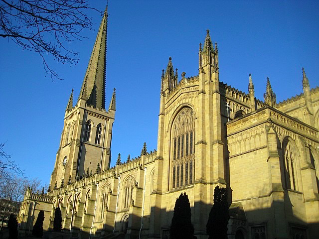 Wakefield church (now cathedral)