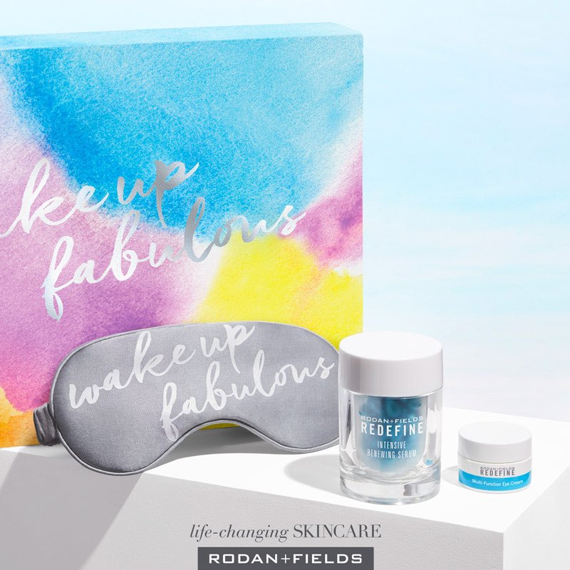 6a8e367964a A PSA for new Moms: Slip on the FREE luxury sleep mask in our anti-aging  #WakeUpFabulous Set, and you'll sleep juuust like your baby!!