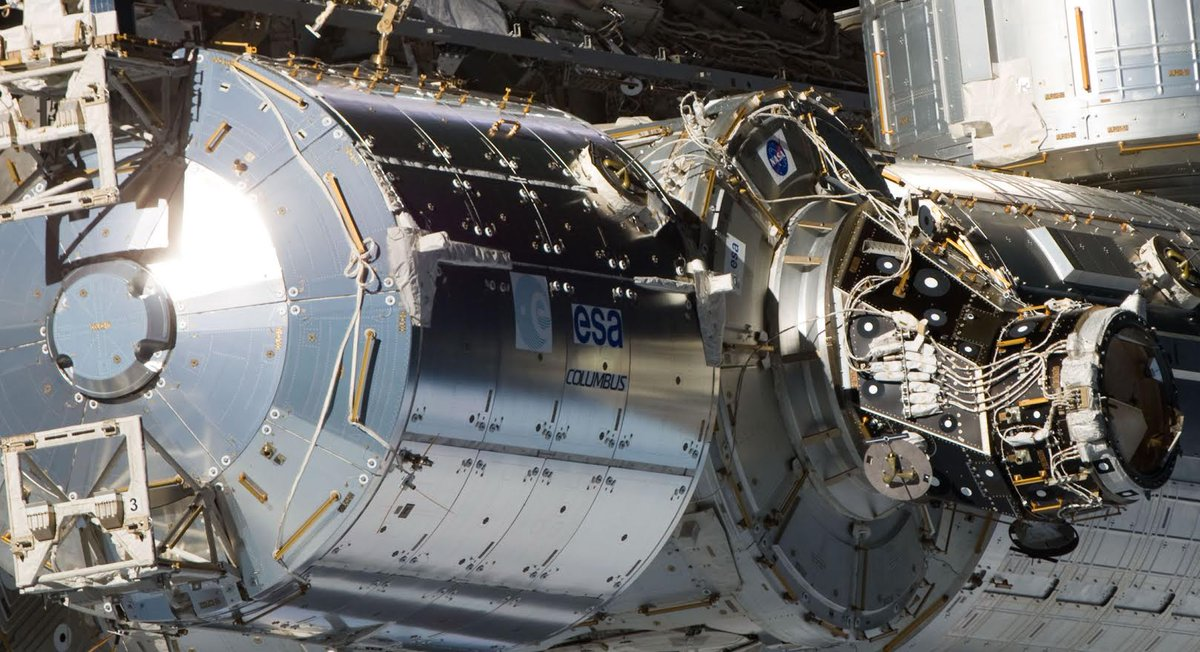 Today a new milestone will be reached with the installation of the very first components of the new Airbus Commercial Platform #Bartolomeo on the Columbus module of the International Space Station. 👨🚀 Watch it live 👉 https://twitter.com/i/broadcasts/1BdxYAljWoYxX… #SpaceSymposium #35Space