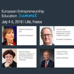 Look who's already on board to discuss #Entrepreneurship #Education in Europe in the upcoming #EEHUBeu Summit.  #SwitchOnEurope ▶️https://t.co/OG8d8eLsB7