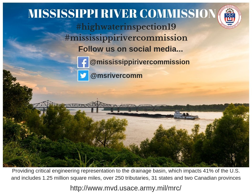 Mississippi River Commission (@msrivercomm) | Twitter