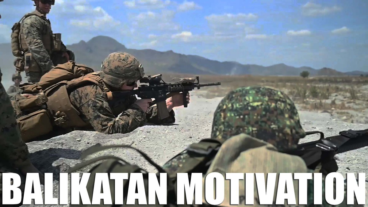 Need some extra motivation?  The Marines from @BalikatanEx got you.