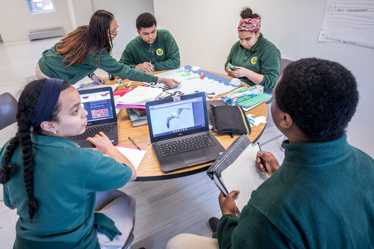 test Twitter Media - Students worked on a project-based learning activity in the new CHS Applied Learning Center: 7th graders constructed dioramas of climate regions then partnered w/juniors & seniors to create PSA campaigns on taking action to help the environment. #FullSTEAMAhead #RCABSchools #STEM https://t.co/j2jWfqXVze