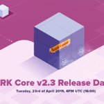 Image for the Tweet beginning: #ARK Core Update v2.3 will
