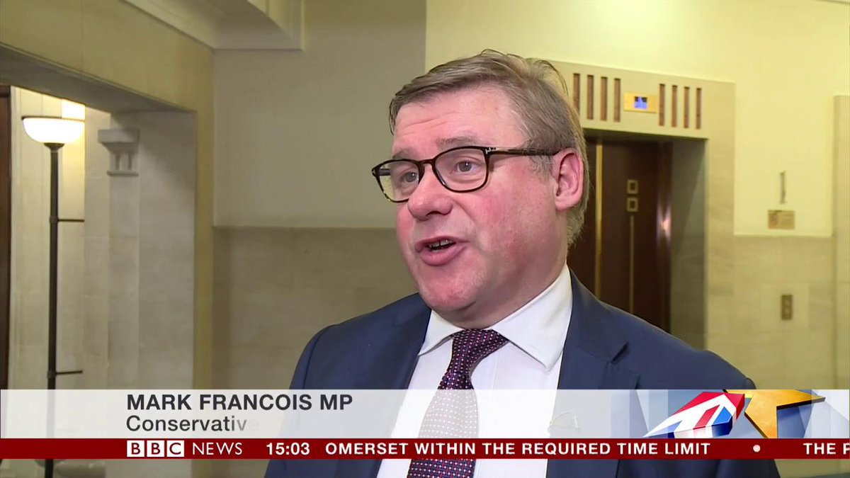 """No, your ears aren't deceiving you.  Mark Francois really did just say Tory MPs need another vote of confidence in May because """"the situation has changed"""".  A man so clearly lacking in introspection that he'd be unable to recognise himself in a mirror."""