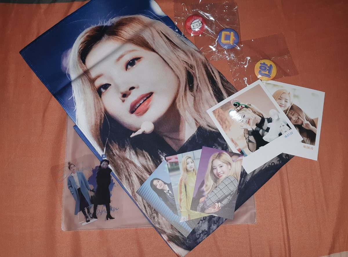 Dahyun_Fan my first ever kpop slogan has arrived uwu, i love it so