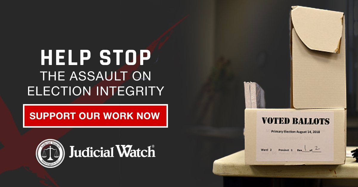A Judicial Watch lawsuit forced the state of California to begin removing more than 1.5 million potentially invalid names off their voter rolls. But there is more work to be done. Sign the Petition now to support clean elections. http://jwatch.us/B1UeYa