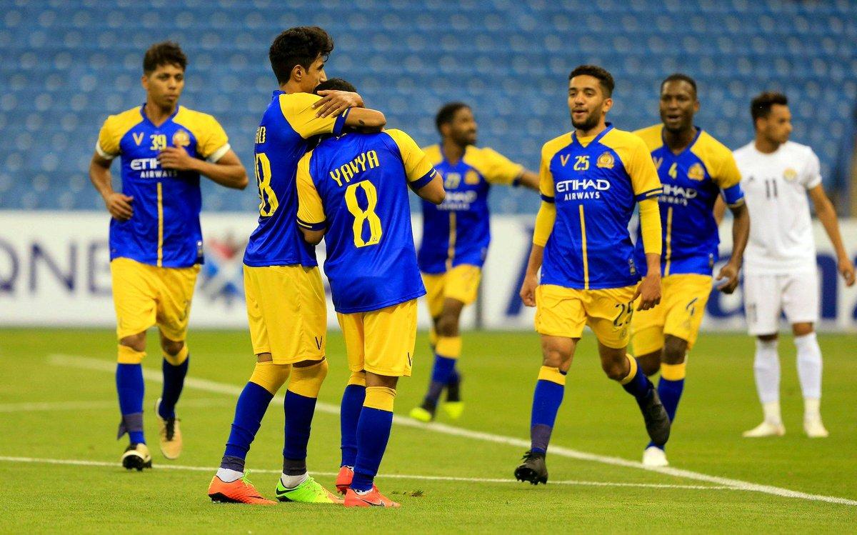 أهداف فوز النصر السعودي على الزوراء العراقي