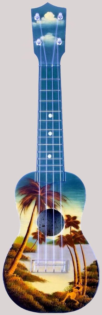 Hilo Hand painted and filtered for original colour soprano at Lardy's Ukulele Database