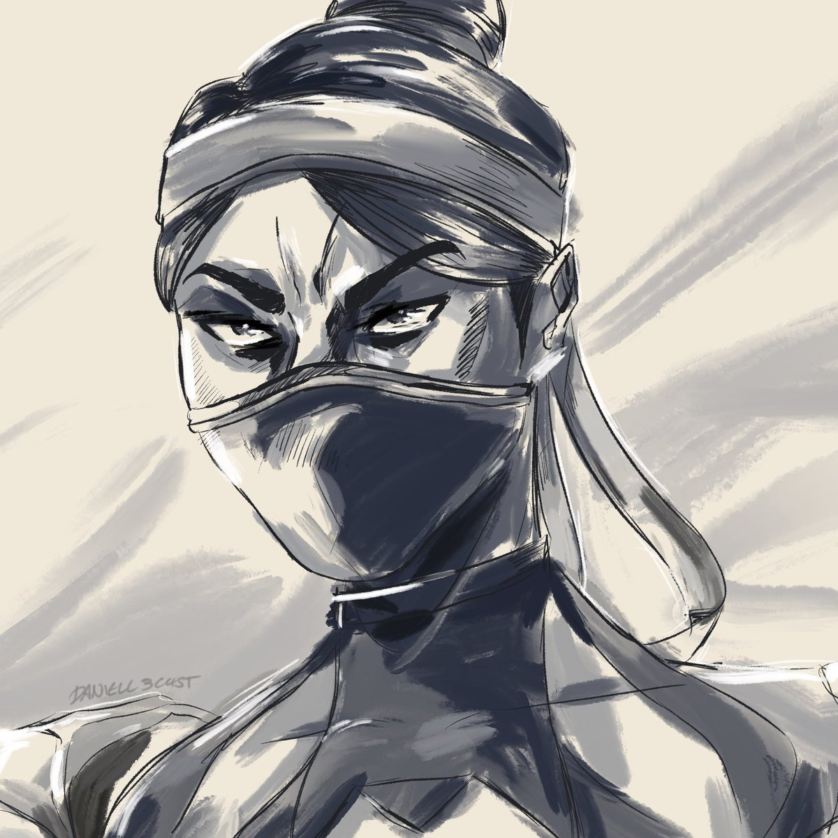 Danielle On Twitter Quick Kitana Drawing D I M Very Exited To