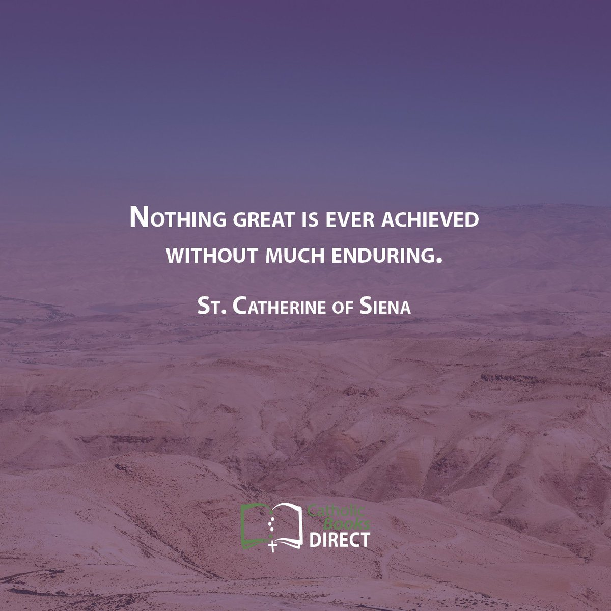 Some food for thought from St. Catherine of Siena as we journey towards Good Friday! #Saints #Catholic #Lent #LentenSeason