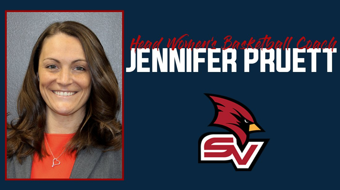We are excited to welcome aboard Jennifer Pruett as our new Head Women's Basketball Coach. Jennifer comes to SVSU after coaching at Division I St. Bonaventure University. @SVSUWBB #svsuwbb #BeaksUp @JPruettSBU   http://www.svsucardinals.com/sports/wbkb/2018-19/releases/20190408dgvv6k …