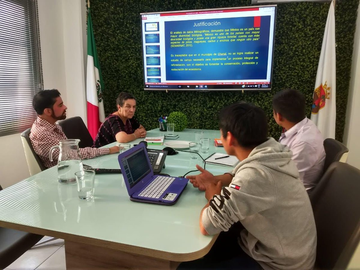 #POP had meetings with Leonardo Velasco from Chanal and Juan Carlos from San Juan Chamula in the Chiapas to discuss their project to preserve and restore the forest and promote sustainable behaviors and to provide them with the mentorship to further develop their initiative. 