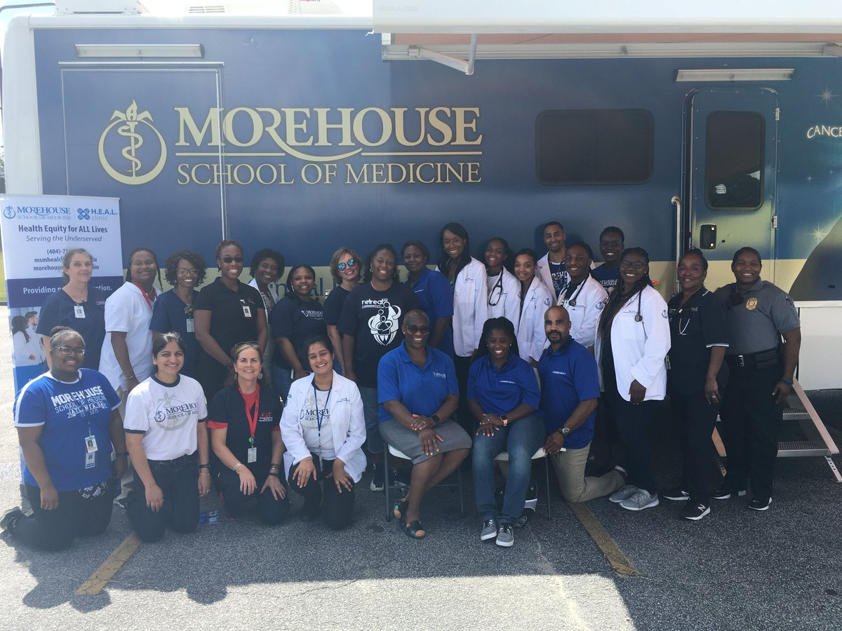 H.E.A.L. Mobile Clinic Travels to Meriweather County to Treat Patients. Late last month,MSM medical students and practicing physicians took their clinic on the road. https://www.msm.edu/RSSFeedArticles/2019/April/healclinicmeriweathercounty.php…