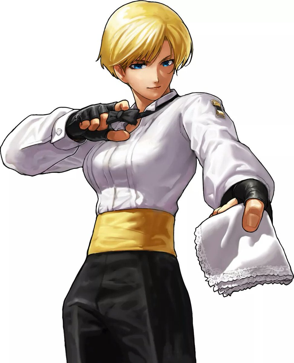 Powergeyser On Twitter Today S Birthday King From Art Of Fighting Today S King S Birthday Working For Mr Big In The First Aof She S A Recurring Char In Kof King Works Hard To Achieve Her Goals And Prefers