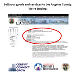 Image for the Tweet beginning: The L.A. County Treasurer &