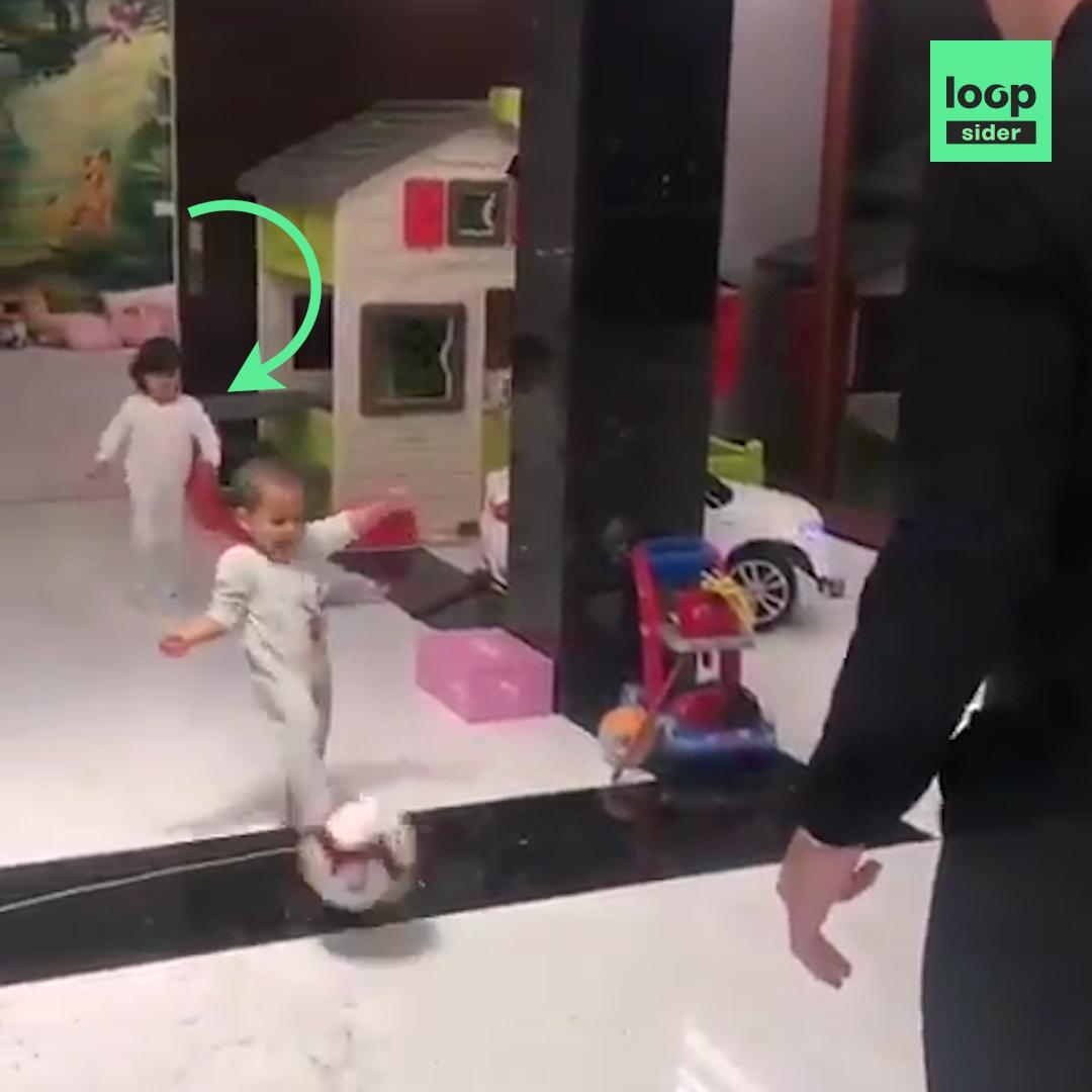 Cette vidéo de Cristiano Ronaldo avec ses deux enfants va vous faire mal au cœur pour sa fille 😥