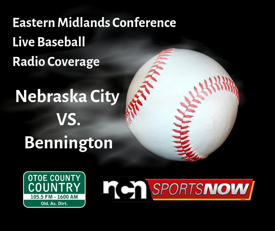 Tonight on @KNCY1600AM (1600 AM, 105.5 FM and http://ncnsportsnow.com ) #NebPreps @NCNSports @NC_baseball2000 @BennBaseball