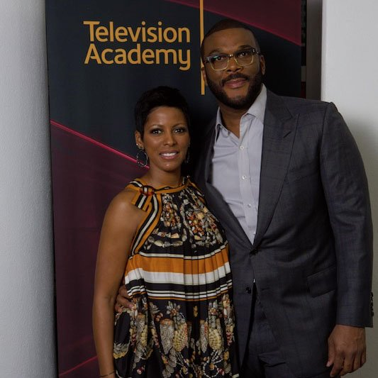 .@tamronhall says one of her favorite memories was interviewing @tylerperry for a @TelevisionAcad event in Atlanta! Excited to announce that our new show will air in Atlanta on @wsbtv weekdays starting 9.9.19!