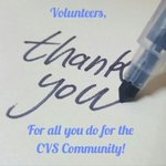 Image for the Tweet beginning: It's Volunteer Week!!   Cyclic Vomiting