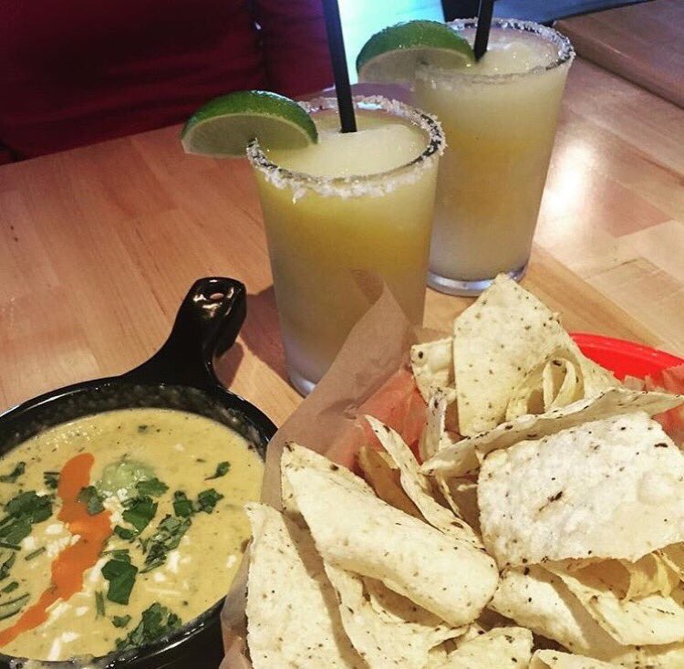 All of my problems can be solved with margaritas, chips and queso