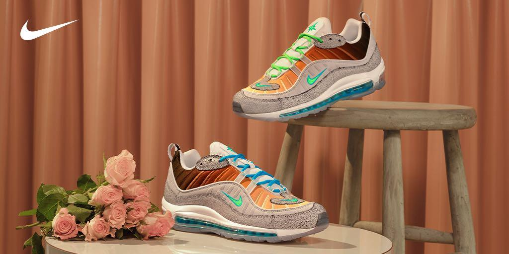 check out 7857a 624c2 The  Nike On Air  NYC Unisex Air Max 98 by Gabrielle Serrano launches in