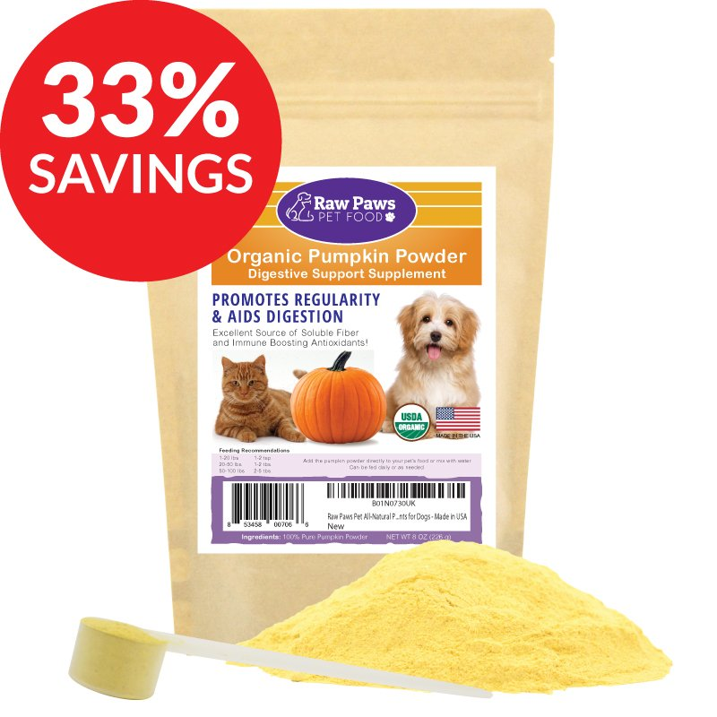 #Pets http://shrsl.com/1jlzt #ad see Raw Paws Organic Pumpkin Powder Digestive Support Daily Supplement (Bundle Deal) #Dogs #cats #supplement #pumpkin #organic  see more at planetgoldilocks.com/pets