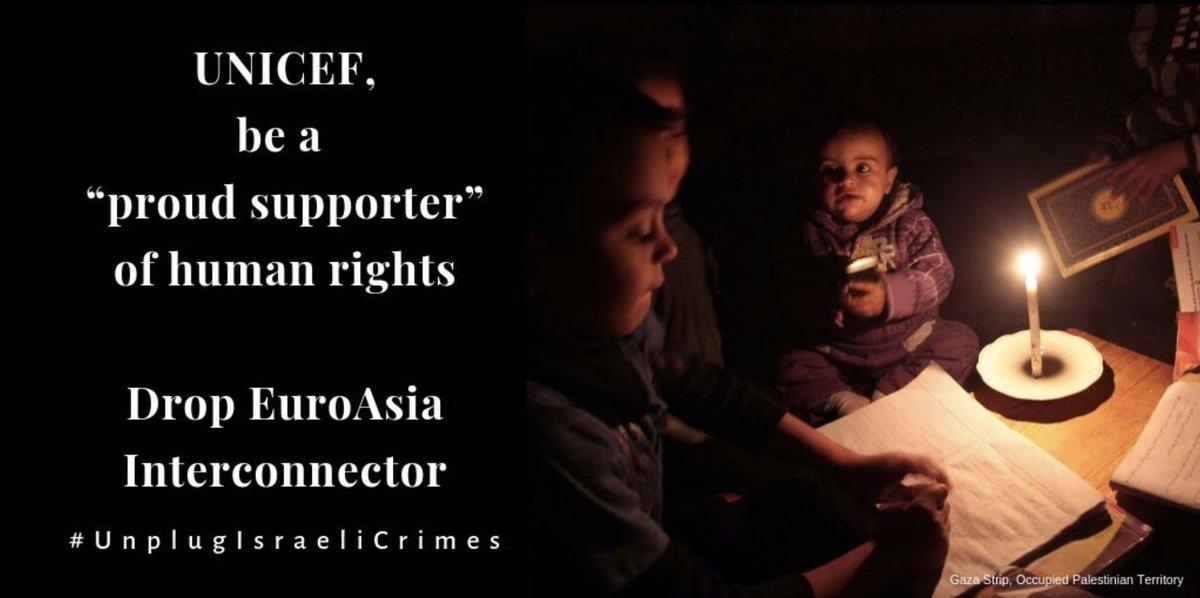 Afbeeldingsresultaat voor Tell UNICEF: Don't plug into Israel's war crimes