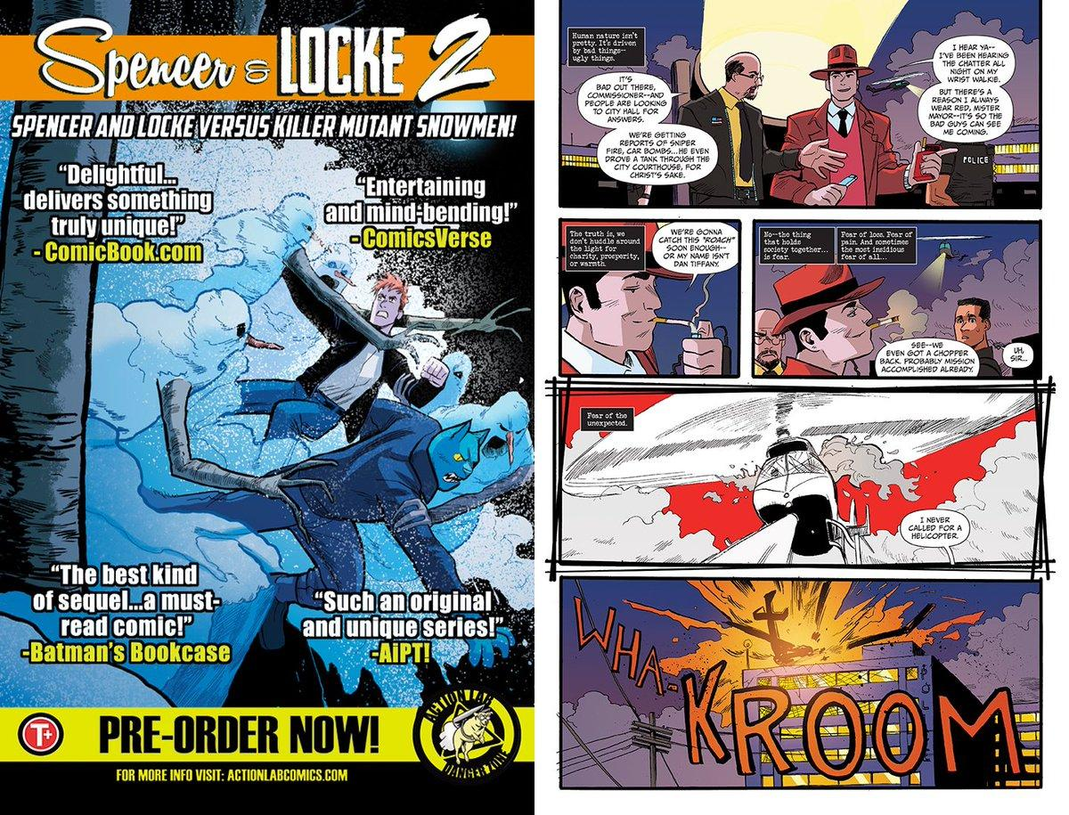 60afed63ec919 Check  FanboyPlanet s  preview of SPENCER   LOCKE 2  3—call your  comics  shop to preorder with the code APR191274