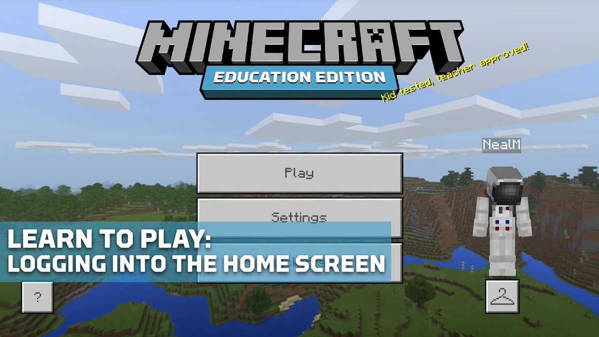 Minecraft: Education Edition on Twitter: Let s get back to the