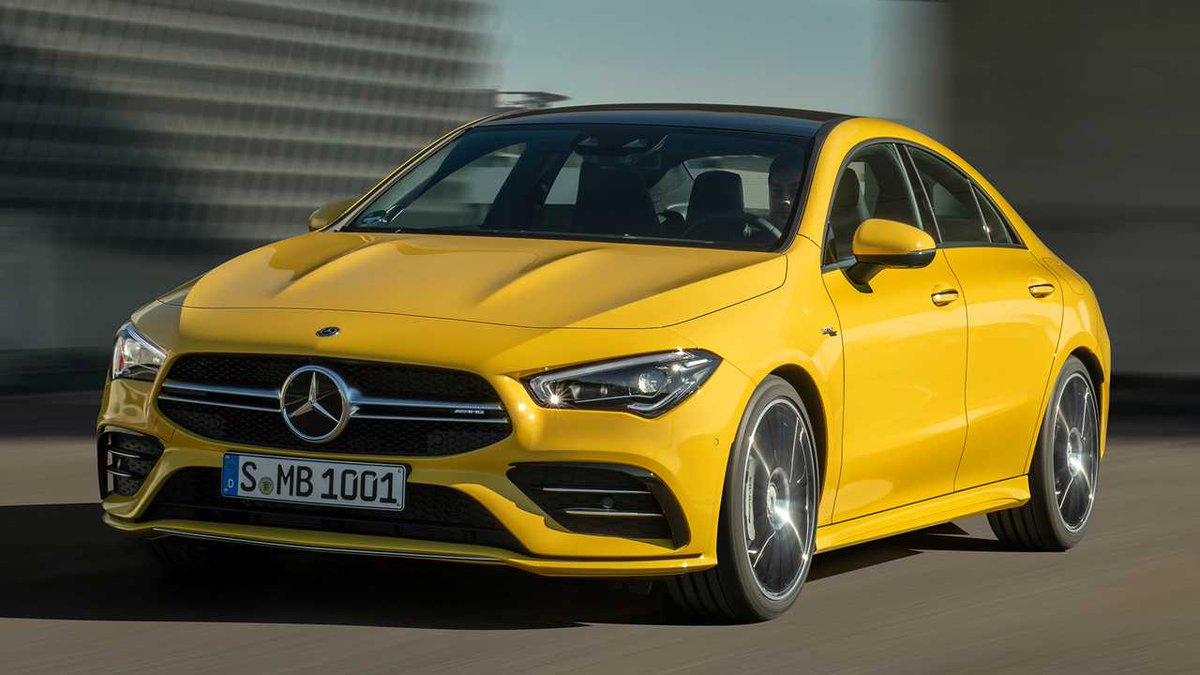 Permalink to NY Preview: 2020 Mercedes-AMG CLA 35